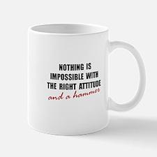 Attitude Hammer Mug