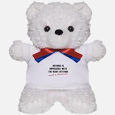 Attitude Hammer Teddy Bear
