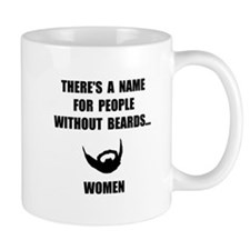 Beard Women Mug