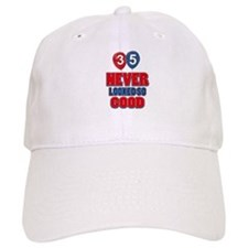 35 never looked so good Baseball Cap