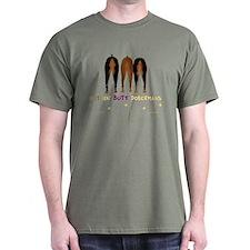 Nothin' Butt Dobermans Green T-Shirt