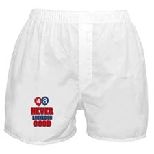 48 never looked so good Boxer Shorts
