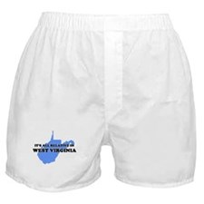 ITS RELATIVE IN WEST VIRGINIA Boxer Shorts