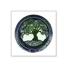 Tree of Life Mandala Sticker