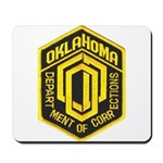 Oklahoma Corrections Mousepad