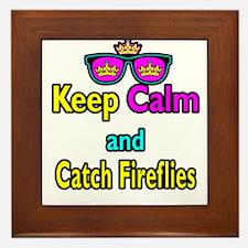 Crown Sunglasses Keep Calm And Catch Fireflies Fra