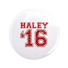 "Haley 2016 3.5"" Button"