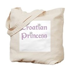 Croatian Princess Tote Bag
