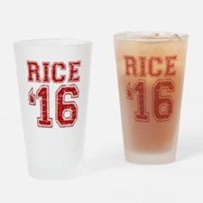 Rice 2016 Drinking Glass