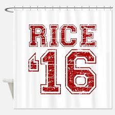 Rice 2016 Shower Curtain
