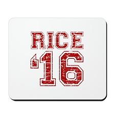 Rice 2016 Mousepad