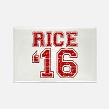 Rice 2016 Rectangle Magnet