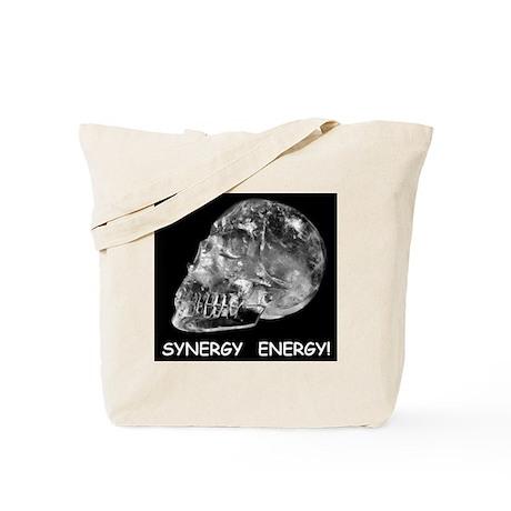 Crystal Skull Synergy Tote Bag
