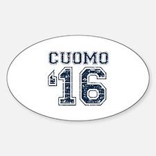 Cuomo 2016 Sticker (Oval)