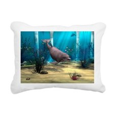 Dolphin Rectangular Canvas Pillow