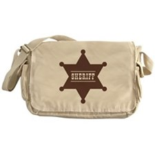 Sheriff's Star Messenger Bag