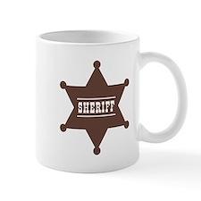 Sheriff's Star Mug