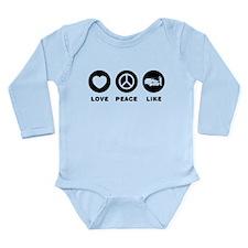 Limo Driver Long Sleeve Infant Bodysuit
