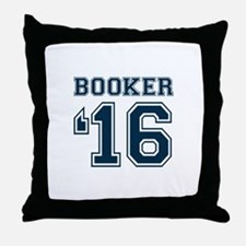 Booker 2016 Throw Pillow