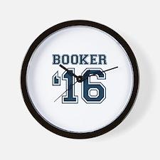 Booker 2016 Wall Clock