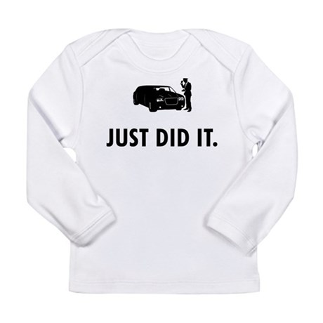 Limo Driver Long Sleeve Infant T-Shirt