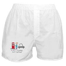 Gas Prices Boxer Shorts