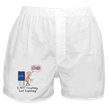 Political Dilemma Boxer Shorts