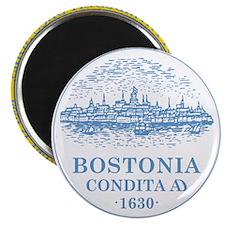 """Boston Flag Shower Curtain 2.25"""" Magnet (100 pack)"""