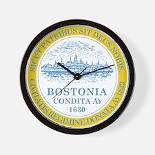 Boston Flag Shower Curtain Wall Clock