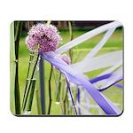 Lavender flower ball Mousepad