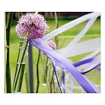 Lavender flower ball King Duvet