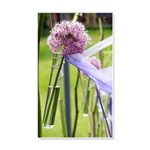 Lavender flower ball 20x12 Wall Decal