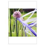 Lavender flower ball Large Poster
