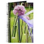 Lavender flower ball Journal