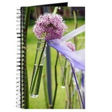 Lavender flower ball Journal