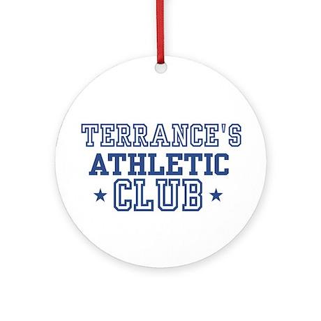 Terrance Ornament (Round)