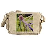 Lavender flower ball Messenger Bag