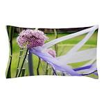 Lavender flower ball Pillow Case