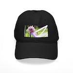 Lavender flower ball Black Cap