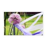 Lavender flower ball Rectangle Car Magnet