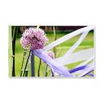 Lavender flower ball Car Magnet 20 x 12