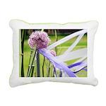 Lavender flower ball Rectangular Canvas Pillow