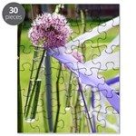Lavender flower ball Puzzle