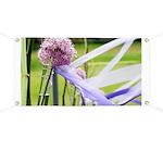 Lavender flower ball Banner