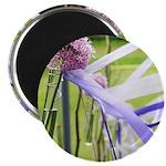 Lavender flower ball Magnet