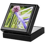 Lavender flower ball Keepsake Box
