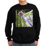 Lavender flower ball Sweatshirt (dark)