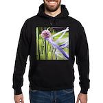 Lavender flower ball Hoodie (dark)