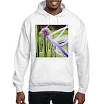 Lavender flower ball Hooded Sweatshirt