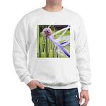 Lavender flower ball Sweatshirt